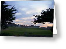 Monterey Golf Course Greeting Card