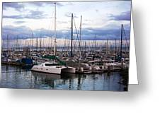 Monterey Harbour Greeting Card