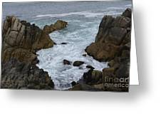 Monterey Rocks - California Greeting Card