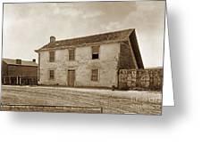 Monterey Whaling Station Circa 1895 Greeting Card