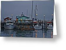 Monterey Wharf 2 Greeting Card