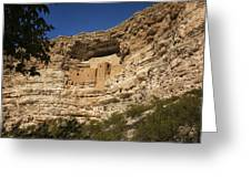 Montezuma Castle National Monument Az Dsc09056 Greeting Card