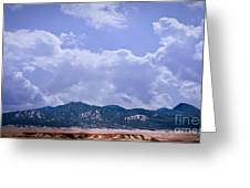 Montezuma County Landmark Greeting Card