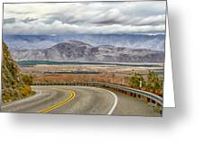 Montezuma Grade Greeting Card