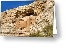 Montezumas Castle 17 Greeting Card