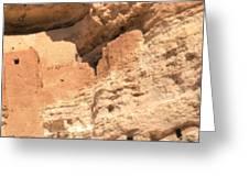 Montezumas Castle Greeting Card