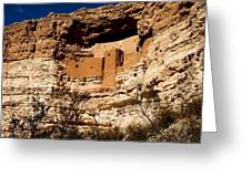 Montezuma's Castle Greeting Card