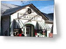 Montgomery County Market Greeting Card