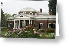 Monticello Estate Greeting Card