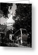 Montmartre Funicular  Greeting Card
