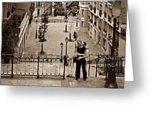 Montmartre Moment Greeting Card