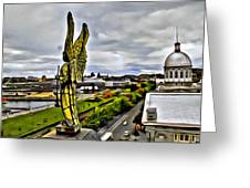 Montreal Angel Greeting Card