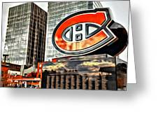Montreal C Greeting Card