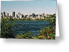 Montreal - Sur Le Fleuve  Greeting Card