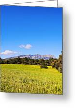 Montserrat Mountain Greeting Card