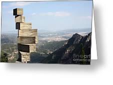 Montserrat Spain Greeting Card