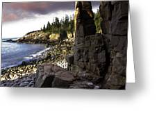 Monument Cove Sunrise 4984 Greeting Card