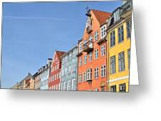 Monument In Copenhagen - Denmark Greeting Card