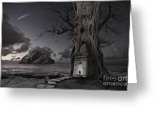 Monument Greeting Card by Keith Kapple