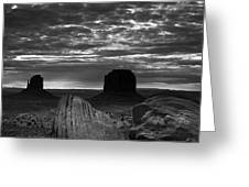 Monument Valley 001 Greeting Card