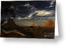 Monument Valley 1 Greeting Card