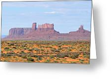 Monument Valley Area Greeting Card