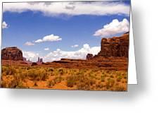 Monument Valley - Arizona Greeting Card