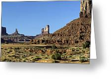 Monument Valley Arizona State Usa Greeting Card