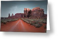 Monument Valley Greeting Card by Cindy Rubin