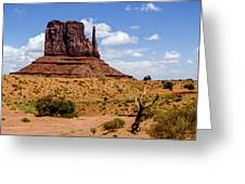 Monument Valley - Elephant Butte Greeting Card