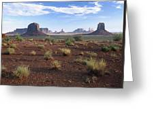 Monument Valley From North Window Greeting Card
