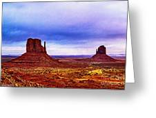 Monument Valley Navajo National Tribal Park Greeting Card
