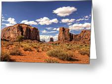 Monument Valley - North Window Overlook  Greeting Card
