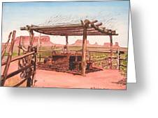 Monument Valley Overlook Greeting Card