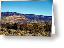 Monument Valley Region-arizona Greeting Card