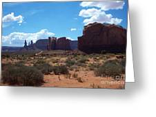 Monument Valley Scenic View Greeting Card