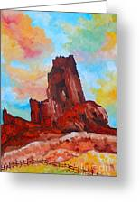 Monument Valley Standing Tall Greeting Card