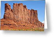 Monument Valley Greeting Card