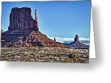 Monument Valley Ut 3 Greeting Card