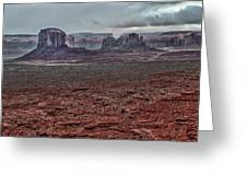Monument Valley Ut 4 Greeting Card