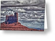Monument Valley Ut 6 Greeting Card