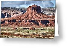 Monument Valley Ut 7 Greeting Card
