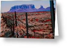 Monument Valley -utah V13 Greeting Card