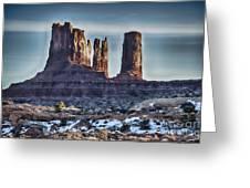 Monument Valley -utah V17 Greeting Card