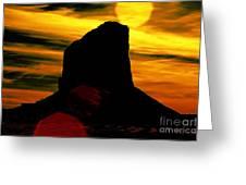 Monument Valley -utah V2 Greeting Card