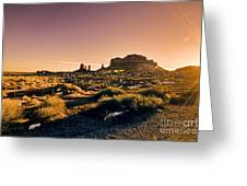 Monument Valley -utah V7 Greeting Card