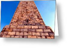 Monumental Heights Greeting Card