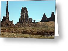 Monuments Greeting Card