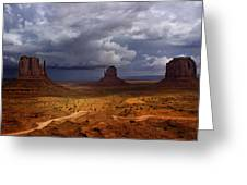 Monuments Of The West Greeting Card