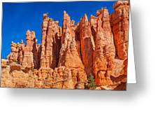 Monuments Of Time Greeting Card